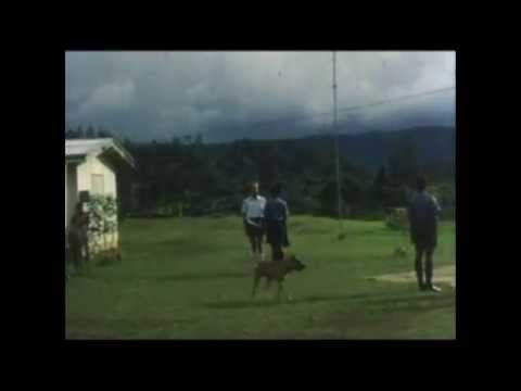 John Hocknull filmed Independence Eve 1975 in Komo Patrol Post
