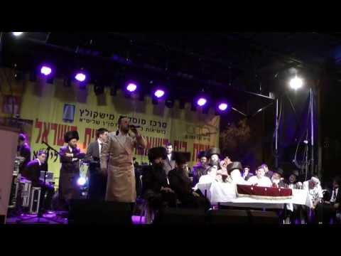 יהודה גלברמן- ליפא שמעלצר מול 40 אלף איש - כבודו  Lipa Schmeltzer