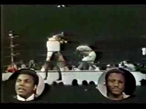 Muhammad Ali and Joe Frazier Wide World Of Sports Studio Brawl 1974 Video