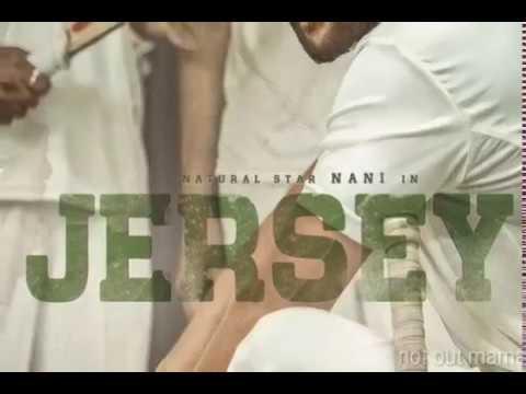Jersey teaser   Nani   Anirudh musical   pdv Prasad presents  