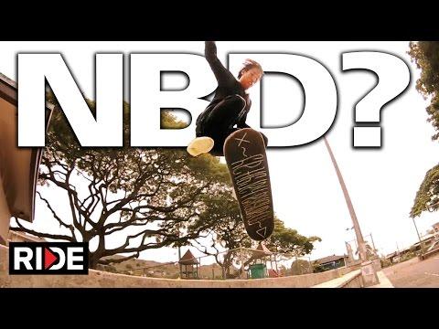 Jason Park NBD!? Frontside 360 Hardflip