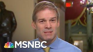 Freedom Caucus Member Jim Jordan On Why Health Care Bill Failed | Morning Joe | MSNBC