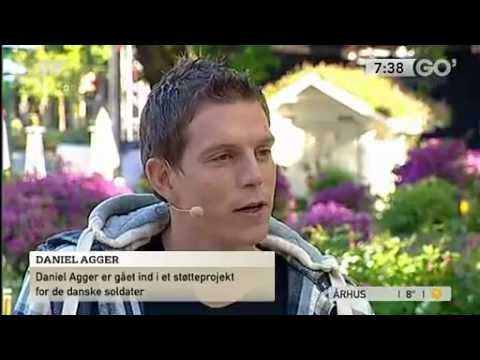 Daniel Agger Interview about raising money for Danish soldiers