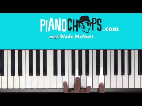 Putting Chords To Melody On The Piano