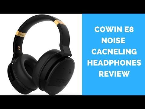 Cowin E8 Active Noise Canceling Headphones Review
