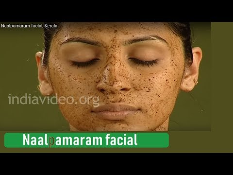Facial using Naalpaamaram paste