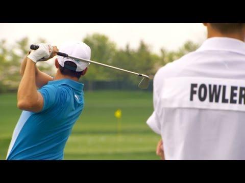 Rickie Fowler's pre-round warm-up routine