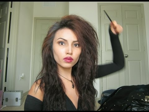 Bellatrix Lestrange Halloween Make-up Tutorial  !!!!