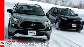 Japan Spec 2019 Toyota RAV4 Adventure, G, Hybrid X