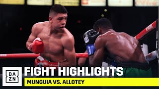 FULL CARD HIGHLIGHTS | Jaime Munguia vs. Patrick Allotey