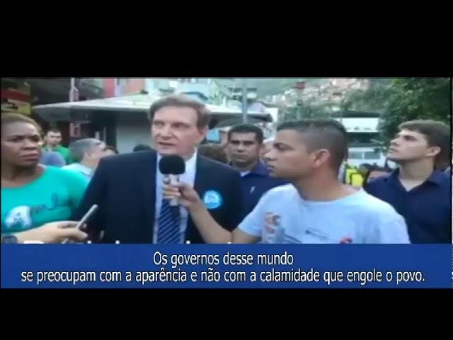 Os governos desse mundo se preocupam com a aparência e não com a calamidade que engole o povo.