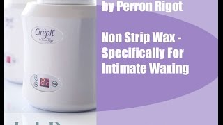 Jack Dunn Waxing School - Cirepil Intimate4 non strip wax by Perron Rigot .
