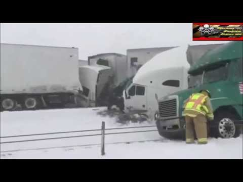 i-80 Wyoming big accident involved many trucks and cars