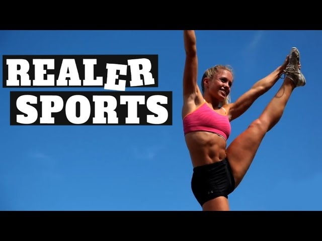 REALER SPORTS - Ep31 - Hot Cheerleaders and Terrible Bikers