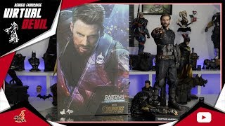 HOT TOYS - CAPTAIN AMERICA - MOVIE PROMO EDITION - INFINITY WAR !!! UNBOXING ET REVIEW !!!