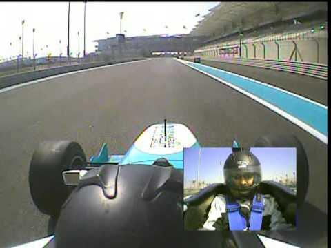 Formula Yas 3000 Driving Experience, Yas Marina F1 Circuit, Abu Dhabi