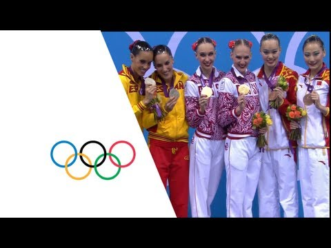 Synchronised Swimming Duets Final - London 2012 Olympic Games Highlights
