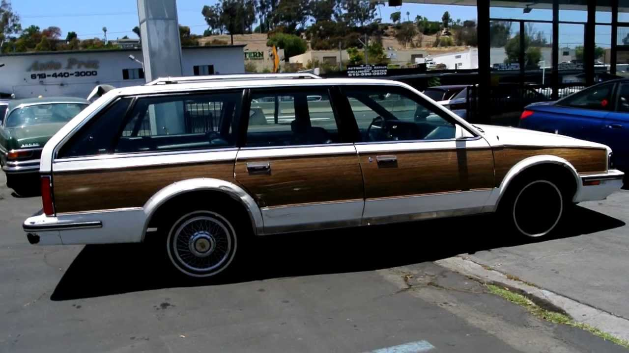 1988 Oldsmobile Cutlass Ciera Cruiser Woody Station Wagon