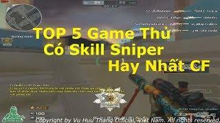 TOP 5 Game Thủ Có Kĩ Năng Sniper FFA Tốt Nhất Đột Kích Việt Nam✔