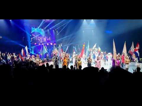 Circ Elefant d'Or -  Presentación de delegaciones