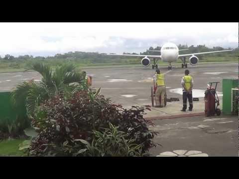 Bancasi Airport Butuan City Philippines 28-1-2013