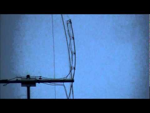 quad antenna in 50 mph wind