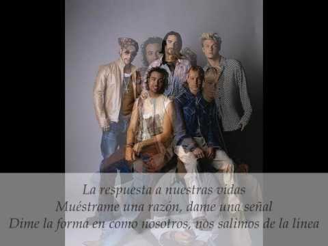 Backstreet Boys The answer to our life (traducida al español)