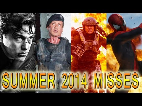 Summer 2014 Biggest Movie Misses: Expendables, Sin City & More! video