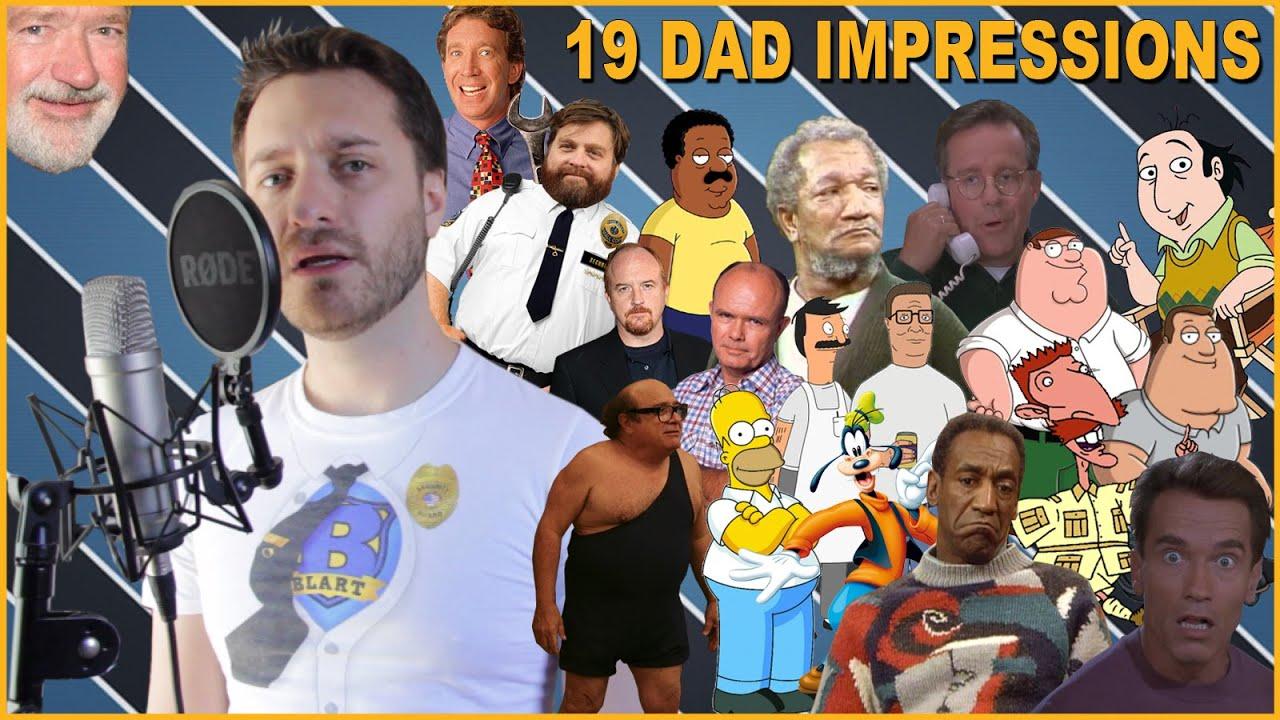 19 Dad Impressions
