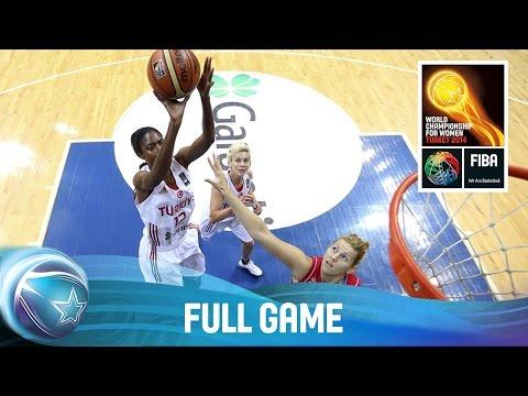 Turkey v Serbia - Full Game - Quarter-Final - 2014 FIBA World Championship for Women