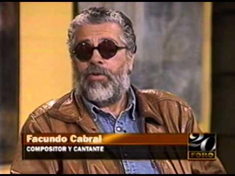 Entrevista a Facundo Cabral en FORO con Gilberto Marcos en el año 2000