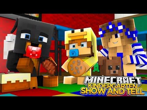 Minecraft - KINDERGARTEN MAGIC w/ LITTLE CARLY & BABY DUCK - Little Baby Max
