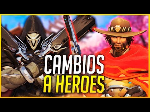 OVERWATCH: CAMBIOS INCREIBLES PARA MCCREE, REAPER Y ROADHOG | Makina