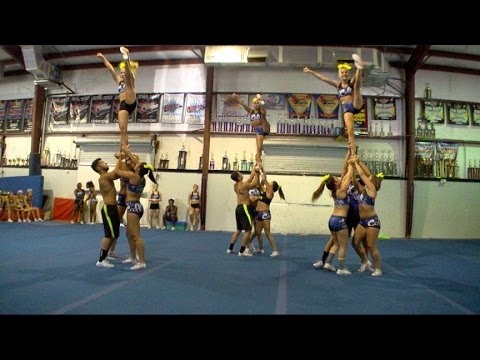 The Teen Superstars of Competitive Cheerl