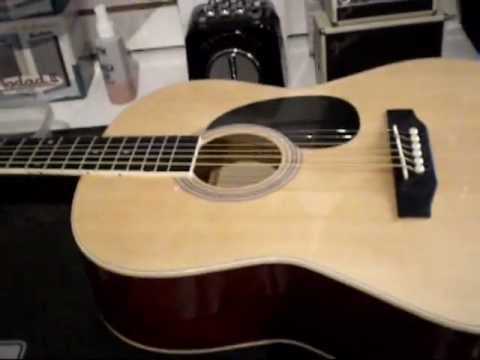 How to set up brand new acoustic guitar.