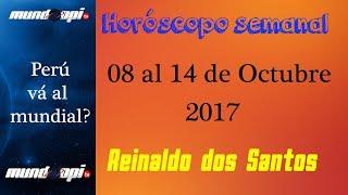 Horóscopo semanal del 08 al 14 de Oct. 2017