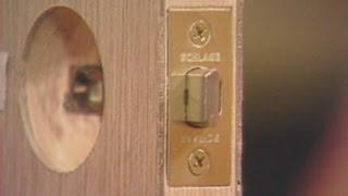 How To Install A Door Lock, Door Knob, Deadbolt