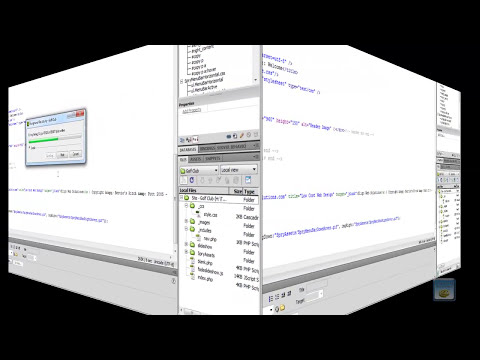 Dreamweaver Tutorial - Part Seven - Adding Php Includes Function To Our Page