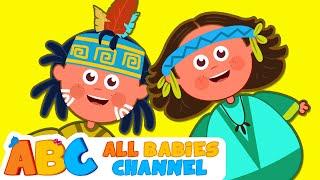 Ten Little Indians | Nursery Rhymes for Children | Kids Songs | All Babies Channel