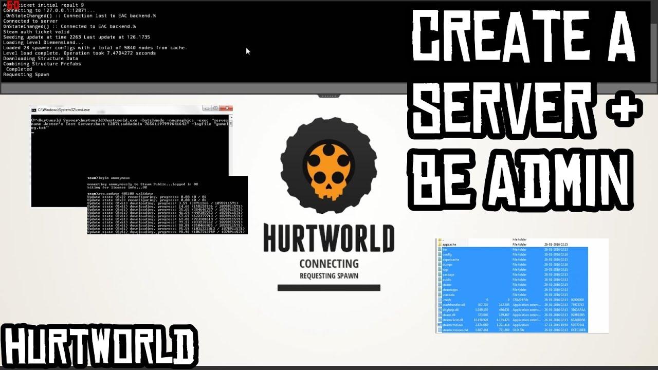 Как сделать цветное название сервера hurtworld