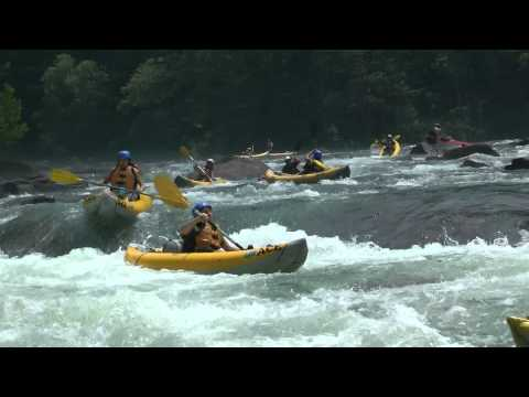 Woods Ferry Rapid - Summer Gauley River