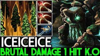 Iceiceice [Tiny] Brutal Damage 2x Daedalus Insane 1 Hit K.O 7.22 Dota 2