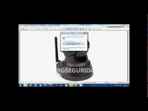 Tutorial Instalacion camara IP WIFI 07W domo Motorizada Inalambrica Audio Bidireccional
