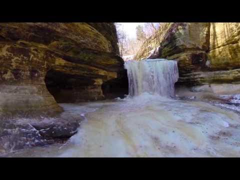 Illinois, Starved Rock State Park DJI Phantom and GoPro Hero 3
