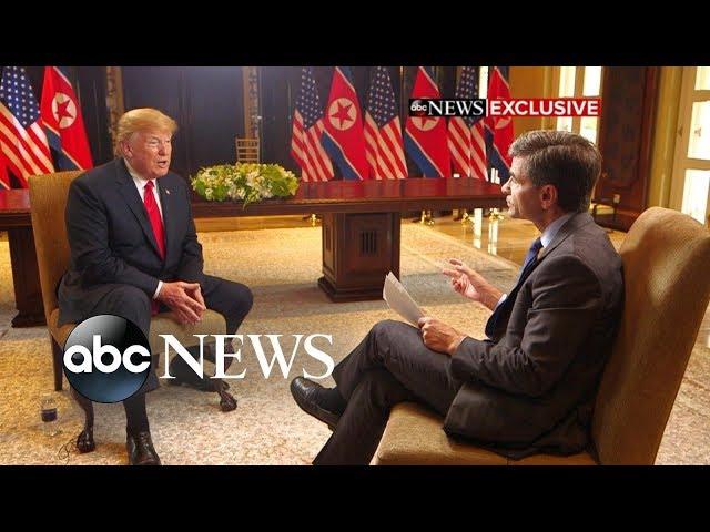 I do trust him Trump reflects on Kim meeting