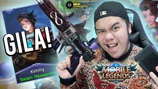 HERO BARU! KIMMY MM PALING GANAS SAKIT BANGET!?!? - Mobile Legends Indonesia #89