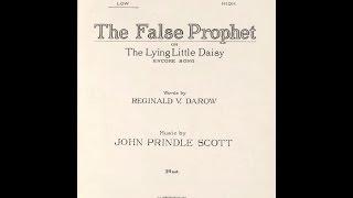 False Prophet 1922