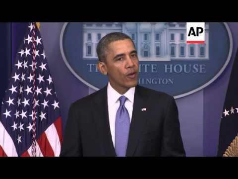 US President Obama comments on the Crimean referendum
