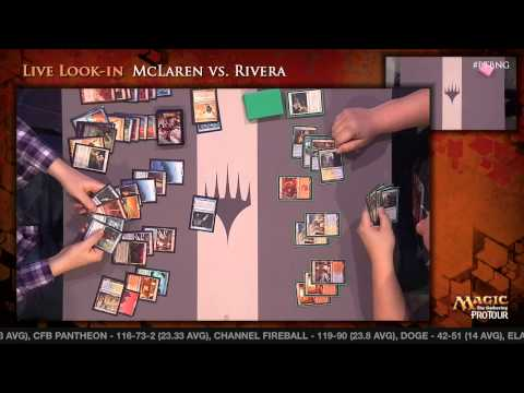 Pro Tour Born of the Gods - Modern Rd. 15 - Samuel Pardee vs. Patrick Dickmann