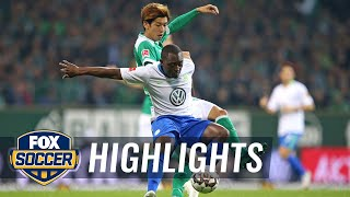 Werder Bremen vs. VfL Wolfsburg   2018-19 Bundesliga Highlights